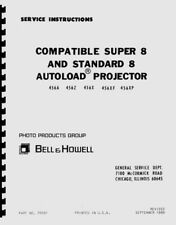 Bell & Howell 456, 456A, 456Z, 456X, 456XF, 456XP Projector Repair Manual