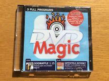 PC Advisor Magazine Software CD, DVD Magic, Dogwaffle, SafeWorld Net Security