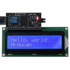 1602 16x2 Serial HD44780 Character LCD Board Display with White on Blue Bac