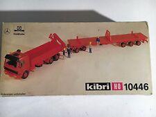 KIBRI 10446 autocarro MB con rimorchio piano ribassato in kit H0