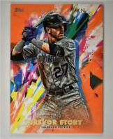 2020 Inception Base Orange #41 Trevor Story /50 - Colorado Rockies