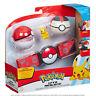 95283 Pokemon Pikachu Clip 'N' Go Poke Ball Belt Set Hold up to 6 Balls Age 4+