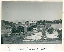 1944 Tintic Fluorspar Mill Beaver County Utah Original News Service Photo