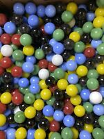 VINTAGE GAME MARBLES  LOT OF 40 FREE SHIPPING GREAT FOR CRAFTS