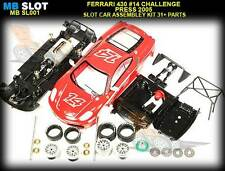 BBR SL001 Ferrari F430 Challenge Press 2005 slot car kit - use on Scalextric etc