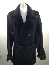 Mens superdry double blacklabel jacket size M stock No.Y136