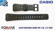 CASIO ORIGINAL BAND SW-110, J-51 NOS