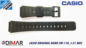 Replacement Casio Original Band SW-110,J-51,S-50W NOS