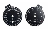 Mercedes SLK R171 AMG - Replacement dial - converted from MPH to Km/h BLACK Dial