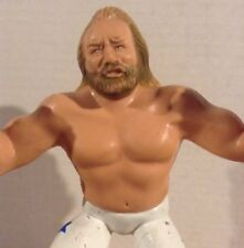 WWF LJN Big John Studd Rubber Wrestling Figure WWE Titan Sports 8in VTG