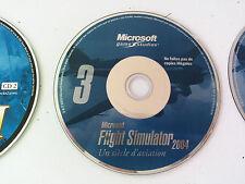 cd n°3 du jeu Microsoft flight simulator 2004 PC FR