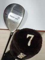 """Adams Tight Lies T24°S Strong 7 Fairway Wood RH Golf Club 42 1/2"""" W Head Cover"""