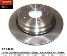 Disc Brake Rotor-Standard Brake Rotor Rear Best Brake GP34162