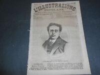 1873 ROCCA PALLAVICINO BUSSETO LISARA LAGO TANA ABISSINIA PITTORE GUARDASSONI