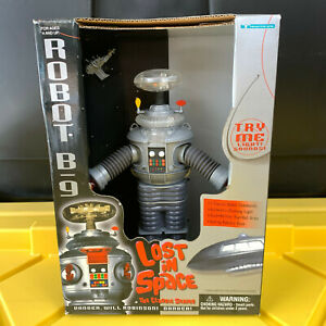 LOST IN SPACE Rodney Robot B-9 Fig 7 Inch Collector's Edition 1998 Vintage NEW