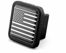 "Reflective US USA flag Trailer Hitch Cover tube Plug Insert (Fits 2"" Receiver..."