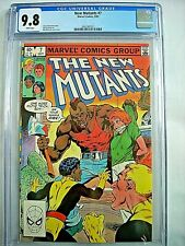 Marvel NEW MUTANTS #7 CGC 9.8 NM/MT White Pages 1983 Highest Grade