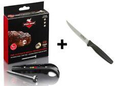 Bistecca Champ regalo-Set 3c BLACK carne-Termometro + prymo. de ® Coltello da bistecca