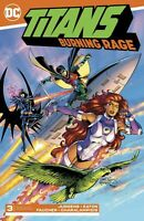 Titans Burning Rage #3 DC Comics 1st Print 2019 COVER A