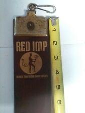 Vintag Red Imp Straight Razor Strop 700c