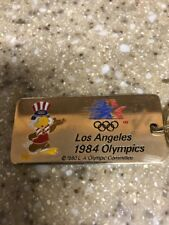 1984 Olympics Keychain Los Angeles Key Ring LA 84 Games of the XXIII Olympiad