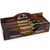 NEW Elements Happiness Spell Incense Sticks by Lisa Parker Pack of 20 with Box