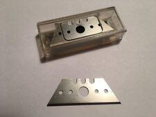 10x Trapezklinge Ersatzklingen Kuttermesser Cutter Baugleich MARTOR 53mm x 19mm