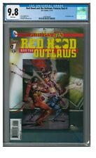 Red Hood and the Outlaws: Futures End #1 (2014) 3-D Cover CGC 9.8 EA352