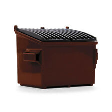 FIRST GEAR 1:34 *BROWN* WASTE BIN DUMPSTER GARBAGE CAN *NIB*