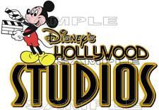 Disney Hollywood Studios Sign Scrapbook Paper Die Cut Piece