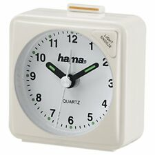 Hama A50 Sveglia da Viaggio plastica Bianco 5.6 x 3 (bianco)