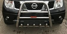 NISSAN Navara D40 High Bull Bar Nuge Bar(60mm) S.Steel 2006-2009