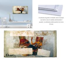"""Quadro 120x60 cm su alluminio  Mimmo Rotella """"Relax 1981"""""""