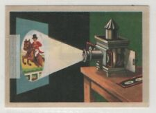 Magic Lantern Early Type Of Image Projector Vintage Ad Trade Card