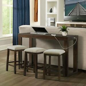 Picket House Furnishings Drew Multipurpose Bar Table Set