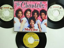 LOT OF 4 ' THE CHANTELS /THE FLAMINGOS ' HIT 45's+1P(Copy)[Maybe] THE 50's&60's!