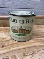 VINTAGE Pipe Carter Hall, Smoking  Tobacco Mixture Can, Tin