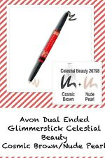 Avon Stellar Celebration Dual Eyeliner CELESTIAL BEAUTY. Cosmic Brown/Nude Pearl