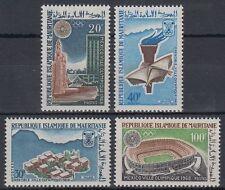 Mauretanien 1967 ** Mi.200/03 Olympische Spiele Olympic Games Stadion [sq5611]