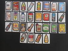 2000 Wacky Package Parodies Complete 1st Series 1 Sticker Set 28/30 MT