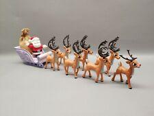 Rudolph Misfit toys Santa Sleigh set playing mantis reindeer team