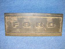 Ford Plastic Emblem Plate Single D5UB-1104371-AA Auto Rare Vintage
