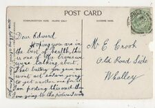 Edward Crook Old Road Side Whalley Lancashire 1909 676b