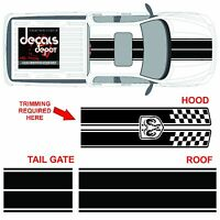 Dodge Ram Dual Rally Racing Stripes Vinyl Double Stripe Decals Decal Sticker NEW