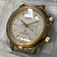 Armbandwecker Damenuhr Novet russisch Pilot Gold mechanischer Uhr Watch