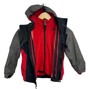 The North Face toddlers boys interchange 3 in 1 hoodie jacket Dryvent zip size 5