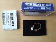 Fleischmann h0 - 6857-DCC decodificador digital-nuevo & OVP
