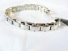 Titanium Bracelet,  12 mm wide dual finish