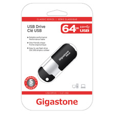 Gigastone 64GB Classic USB 2.0 Flash Drive GS-Z64GCNBL-R     - JS