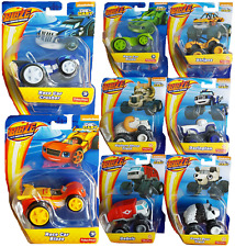 Blaze And The Monster Machines Toy Kids Blaze Die Cast Cars Trunks